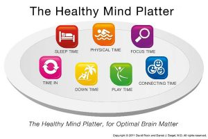 The Healthy Mind Platter, healthy brain